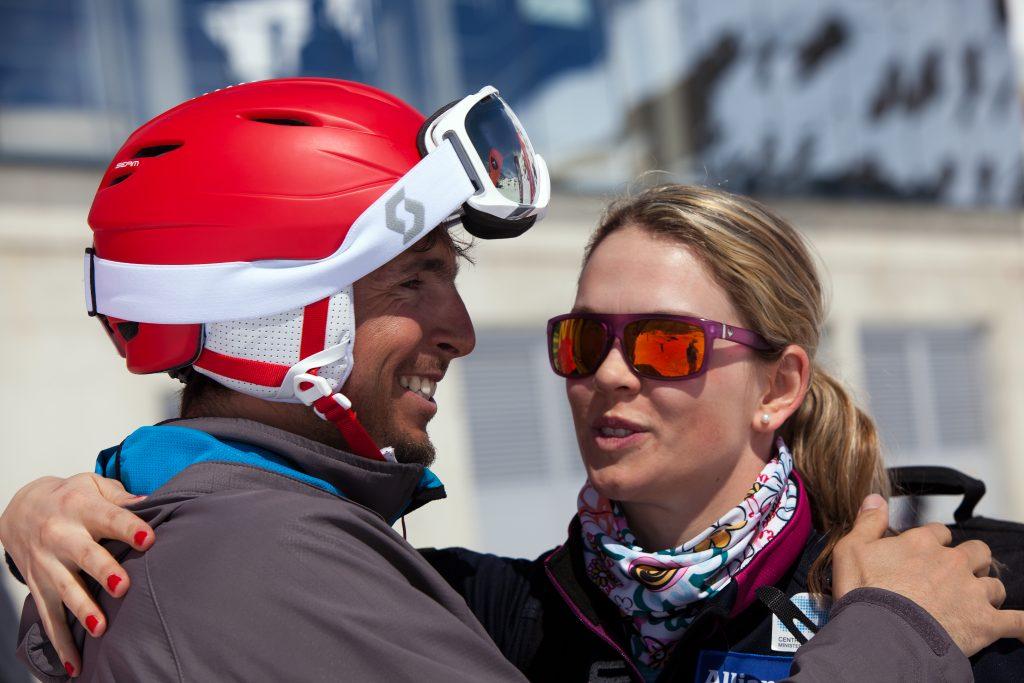 Český Ski Test friends Klára Křížová